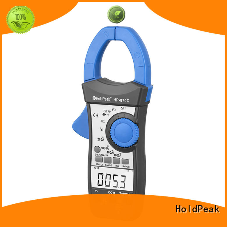 HoldPeak digital power clamp meter manufacturers for electricity chemical industries