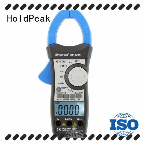 HoldPeak price clip multimeter factory for communcations for manufacturing
