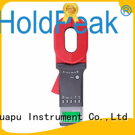 HoldPeak convenient earth clamp tester with many models for industrial electrical equipment industry