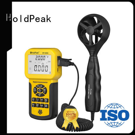 HoldPeak fashion design portable anemometer mobile for communcations
