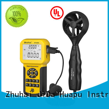 Top cup and vane anemometer chill company for tower crane
