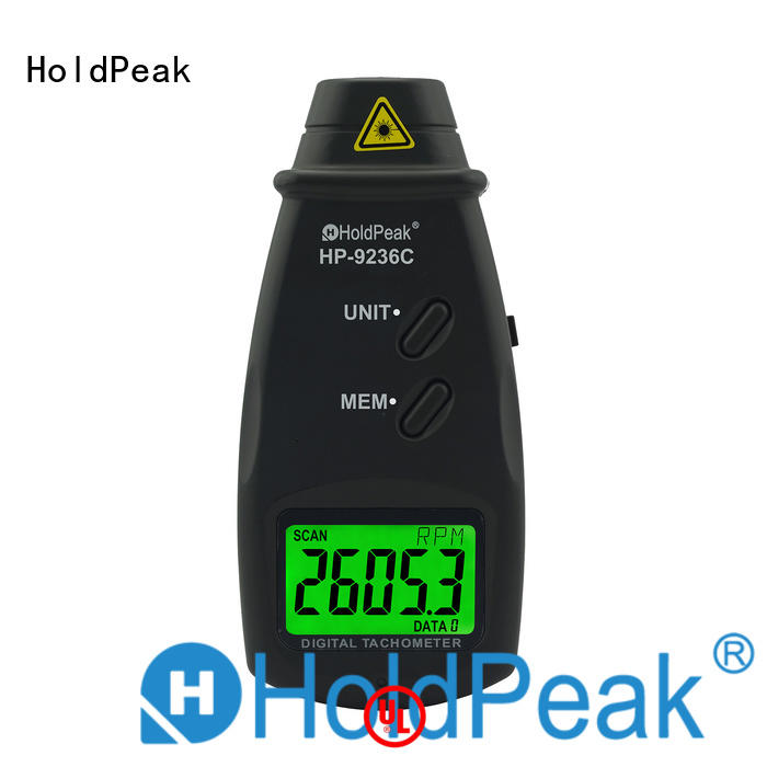 HoldPeak monitor digital laser tachometer for business for airplanes