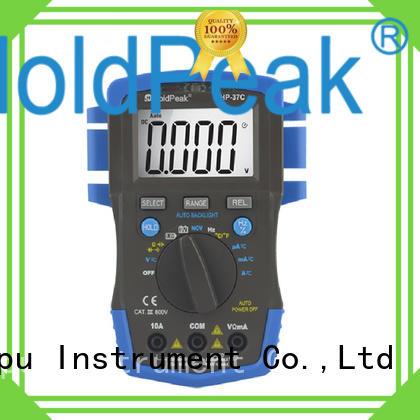 HoldPeak good looking usb multimeter testdata for electronic
