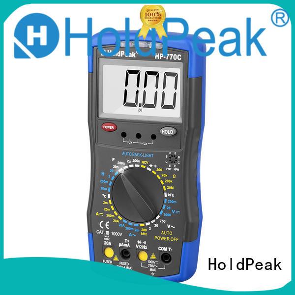 HoldPeak hot-sale analog multimeter manufacturers for testing