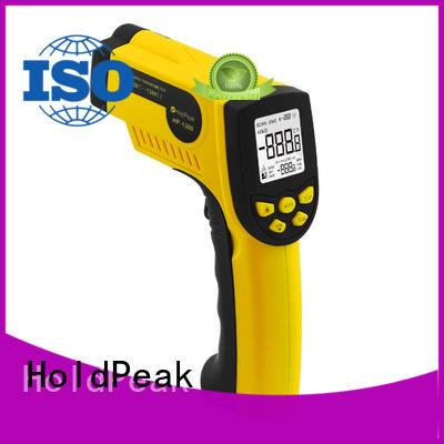 HoldPeak digital pocket ir thermometer laser temperature reader manufacturers for inspection