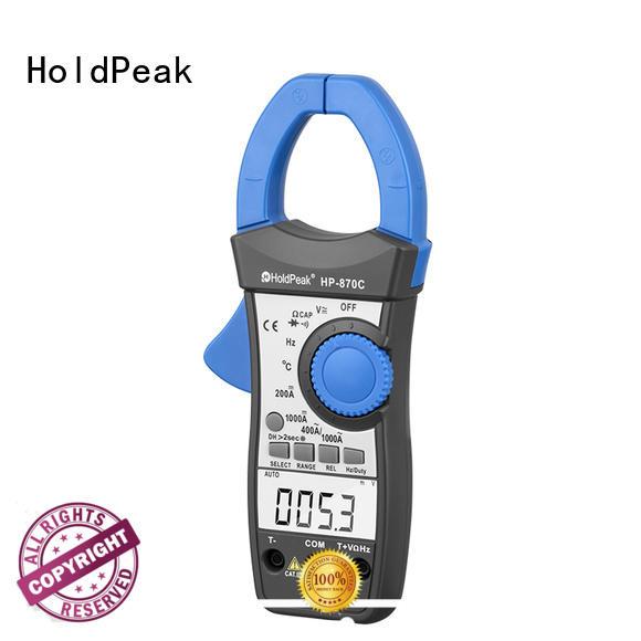 power clamp meter, voltage tester digital ac/dc clamp meter HP-870C