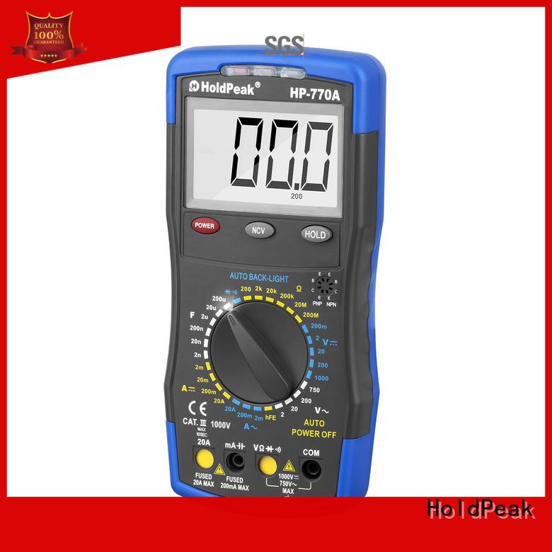 professional digital multimeter.,AC/DC voltage, AC/DC current, resistance.HP-770A