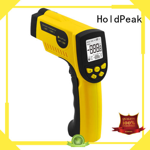 HoldPeak noncontact ir temp gun in different usage for fire