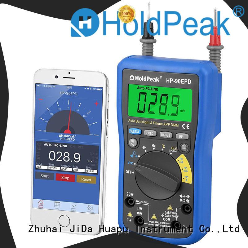 HoldPeak voltage precision multimeter Supply for measurements