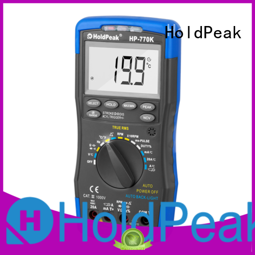 HoldPeak Latest engine instrument system manufacturers for electrical