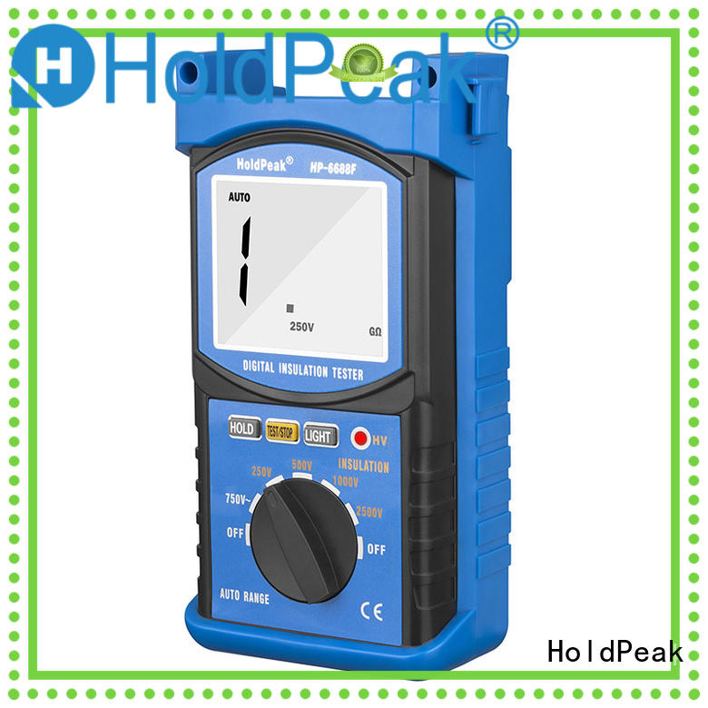 HoldPeak unique insulation resistance meter Supply for verification