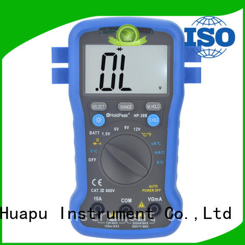 HoldPeak anti-dropping voltmeter meter for business for electronic