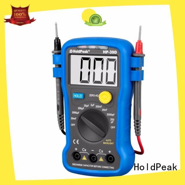 HoldPeak equipment digital battery voltage meter for business for measurements