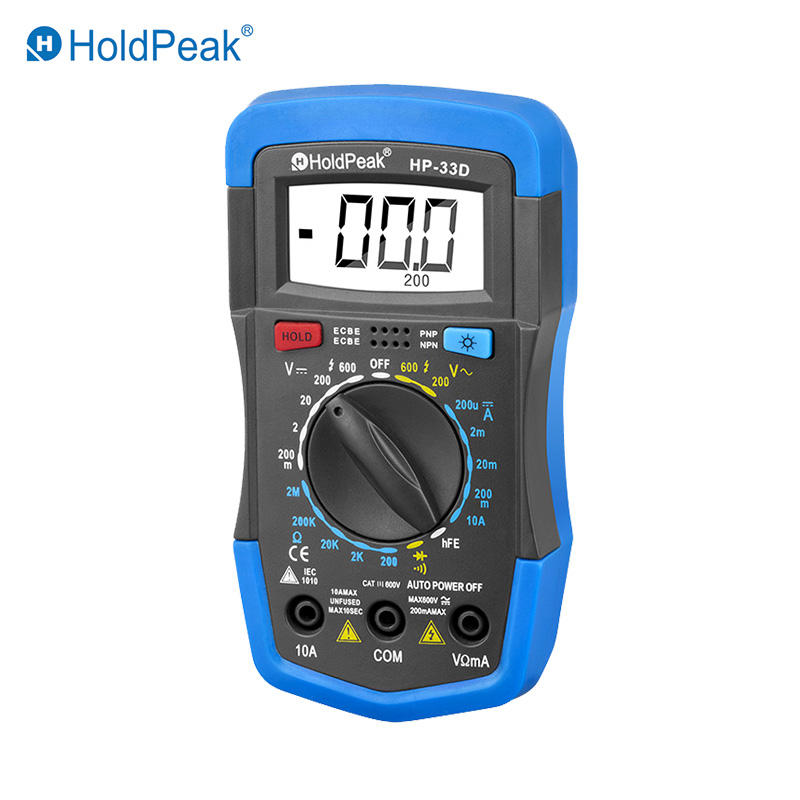Mini Multimeter slim size  professional  smart  HP-33D
