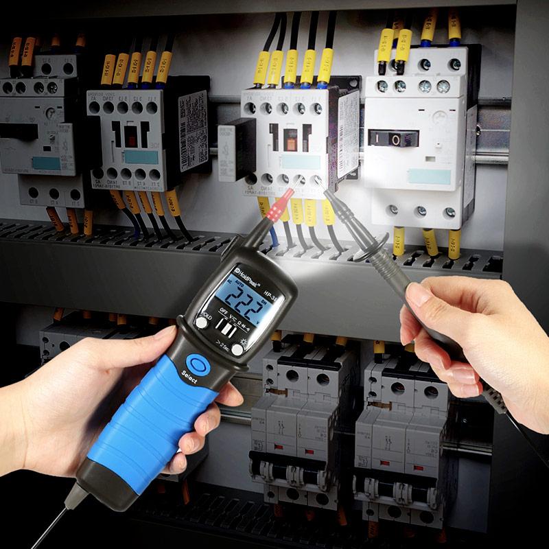 HoldPeak Custom digital voltmeter and ammeter circuit Supply for electrical-15