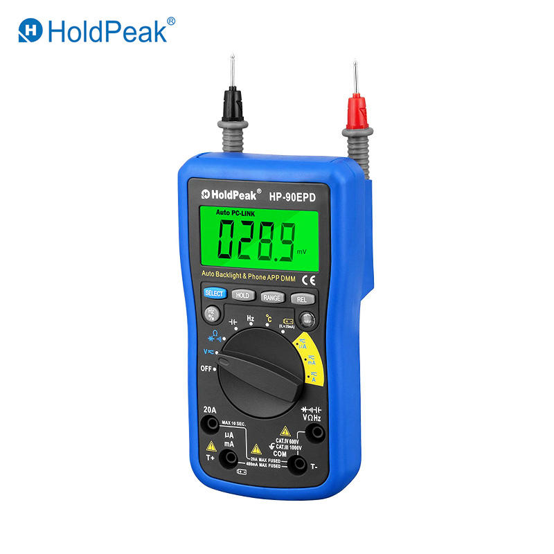 Mobile phone APP Multimeter HP-90EPD