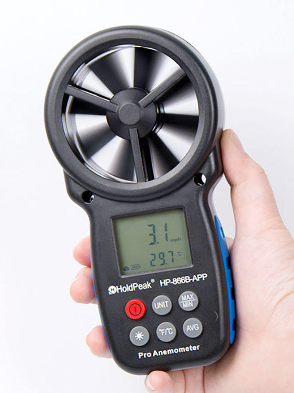 HoldPeak High-quality digital anemometer Suppliers for manufacturing