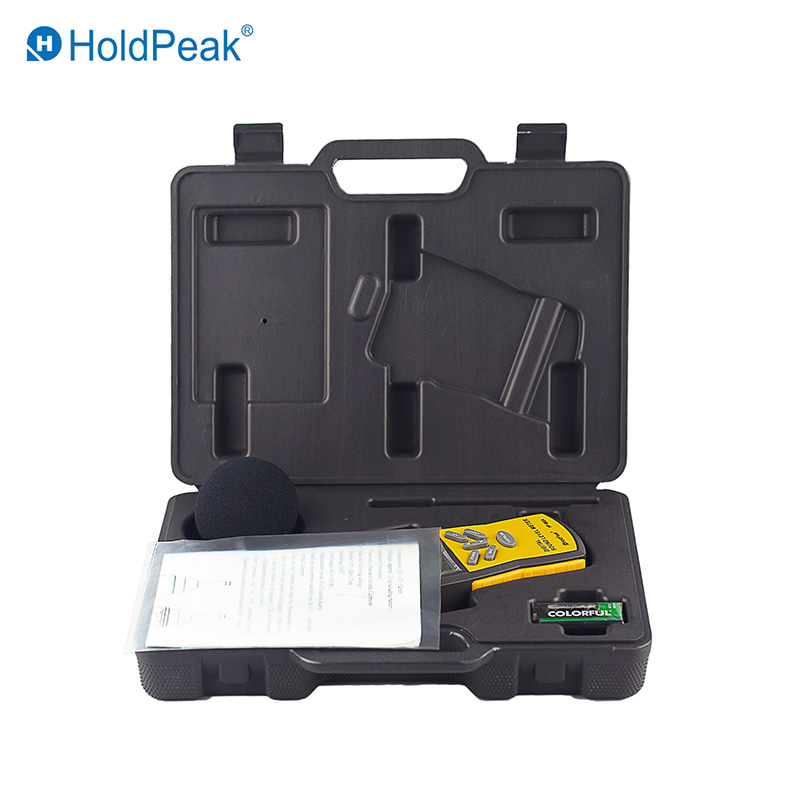 HoldPeak portable sound measuring instrument environment for measuring steady state noise-HoldPeak-i-1