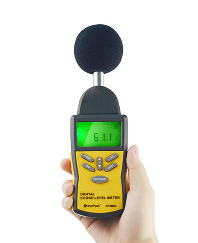 HoldPeak Top integrating sound level meter manufacturers for measuring steady state noise