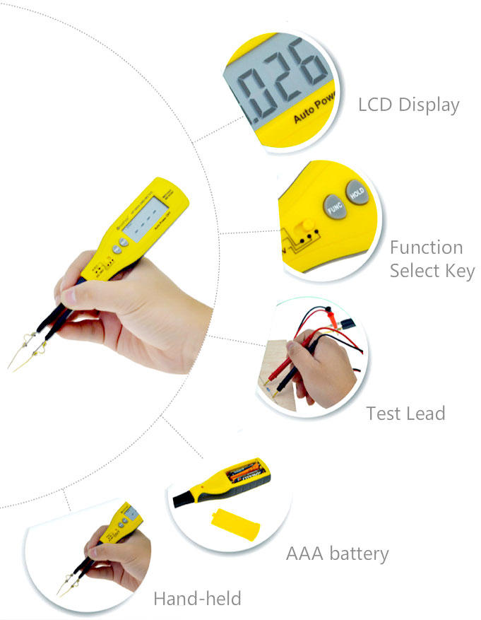HoldPeak good looking multimeter for electronics work for business for electrical