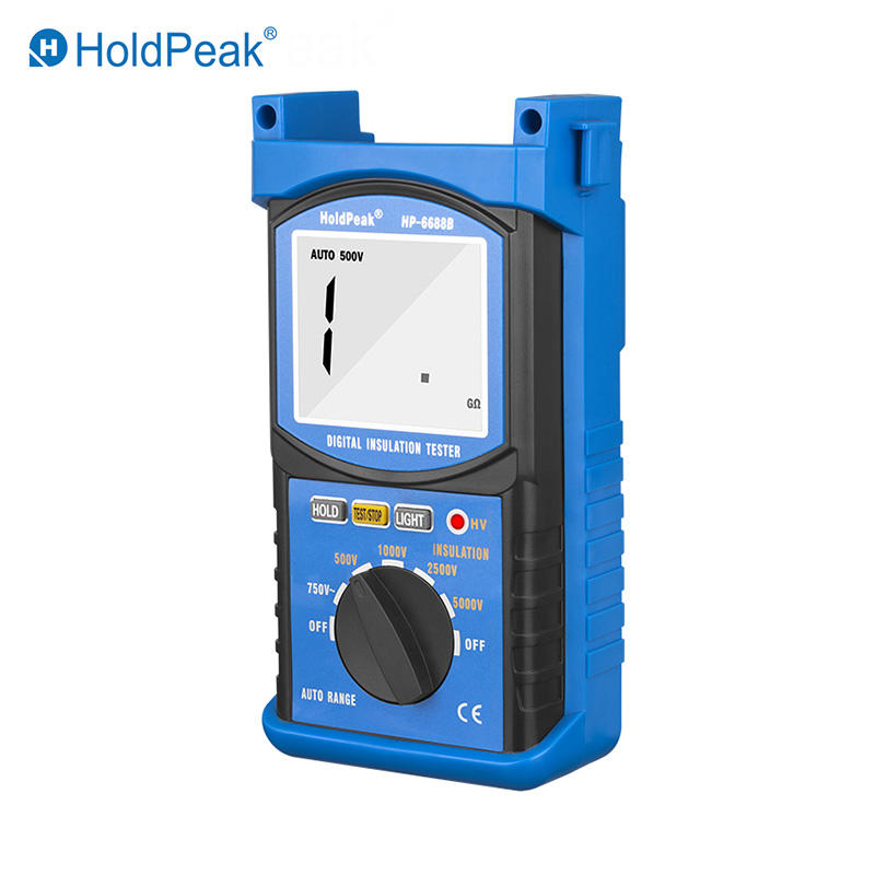 5000V Digital Insulation Resistance Tester HP-6688B