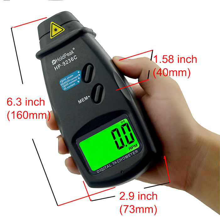 HoldPeak laser tachometer Suppliers for electric fans-4