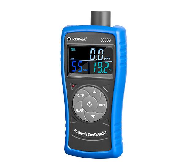 product-0-100ppm Measuring range Ammonia gas detector HP-5800G-HoldPeak-img