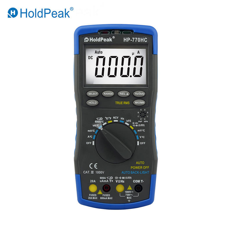 Handheld Digital Multimeter  HP-770HC