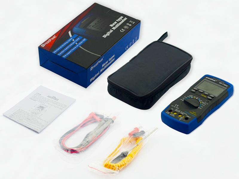 product-Handheld Digital Multimeter HP-770HC-HoldPeak-img