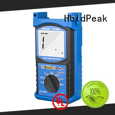 HoldPeak new arrival multimeter insulation tester factory for maintenance