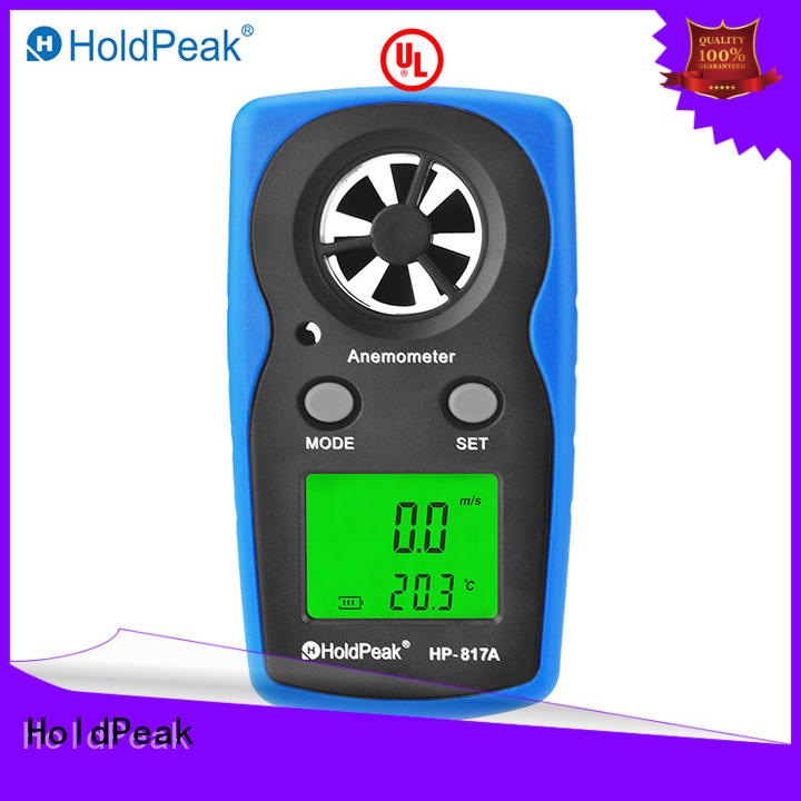HoldPeak digital anemometer manufacturer Supply for manufacturing