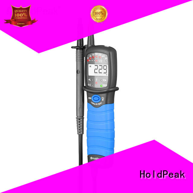 HoldPeak durable non-contact voltage tester pen for measurements