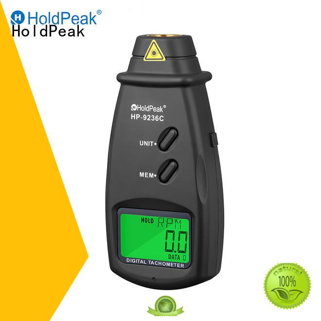 HoldPeak easy to use digital photo tachometer company for motors
