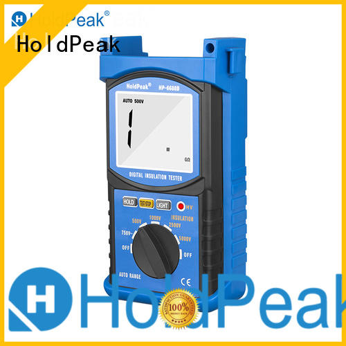 HoldPeak 5000v insulation resistance meter factory for maintenance