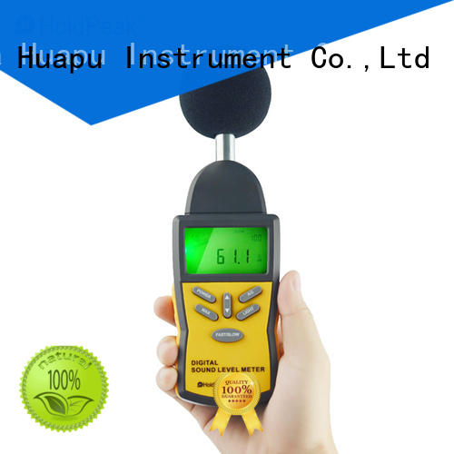 Wholesale noise pollution monitoring devices measurement factory for measuring steady state noise