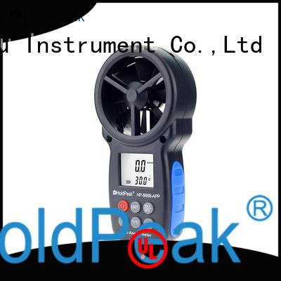 usb digital wind speed meter factory price for tower crane HoldPeak