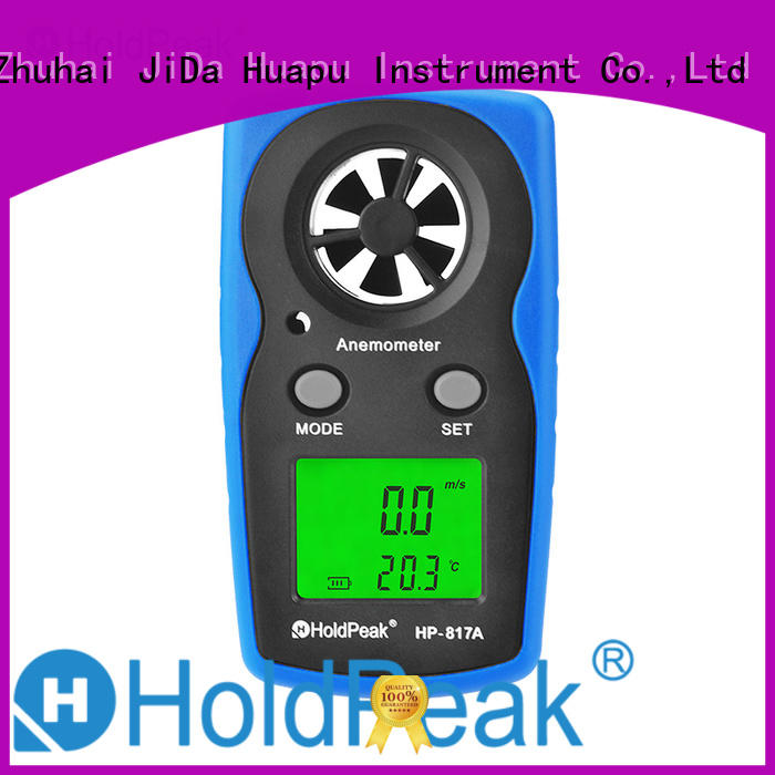 HoldPeak easy to carry usb anemometer for business for manufacturing