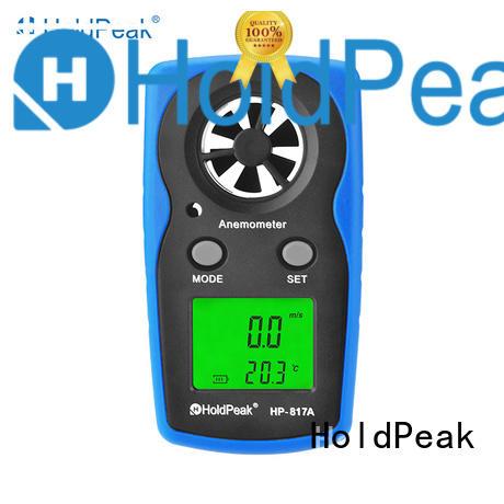 HoldPeak portable handheld anemometer price company for tower crane