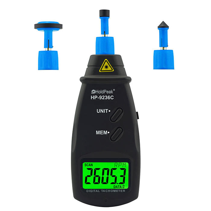HoldPeak easy to use digital photo tachometer company for motors-3