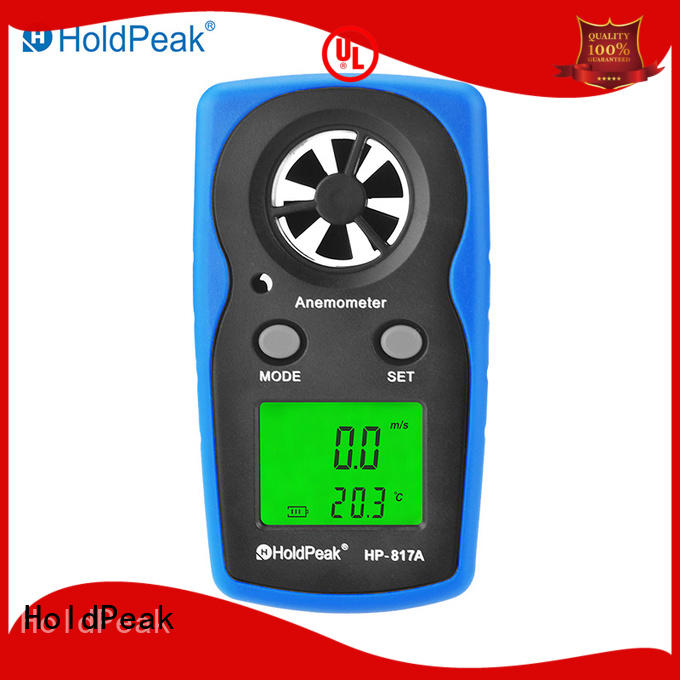 HoldPeak easy to carry wind meter quality for manufacturing