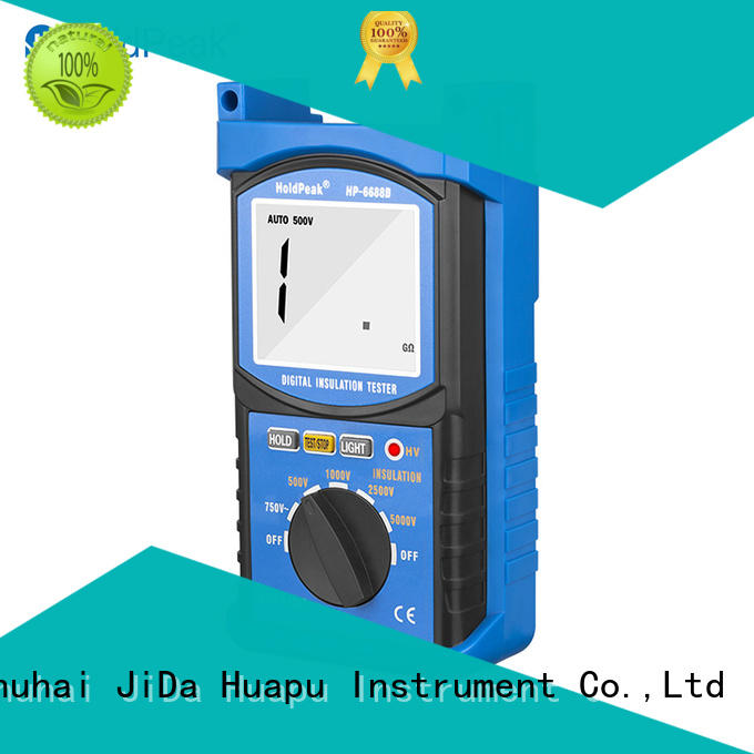 Latest insulation resistance meter hp6688f company for maintenance