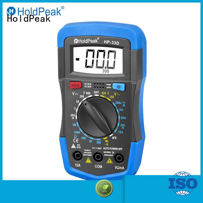 HoldPeak anti-dropping digital multimeter factory for testing
