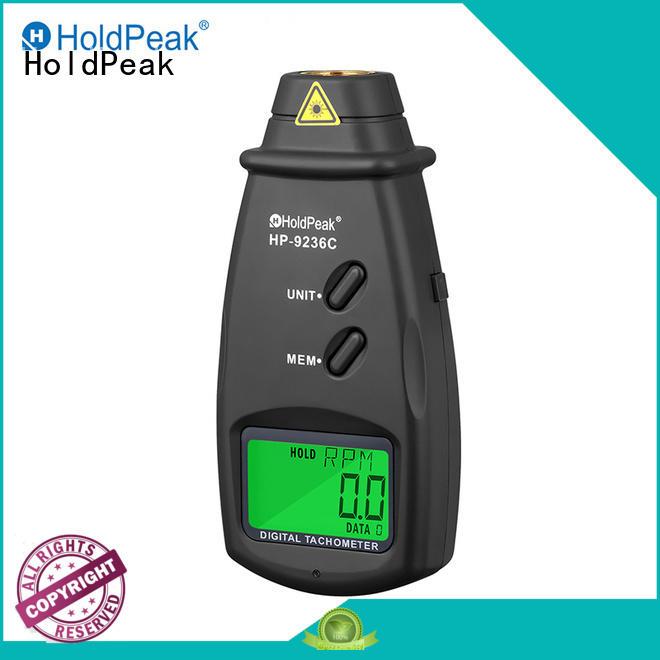 HoldPeak industrialsite hand held tachometer company for plastics