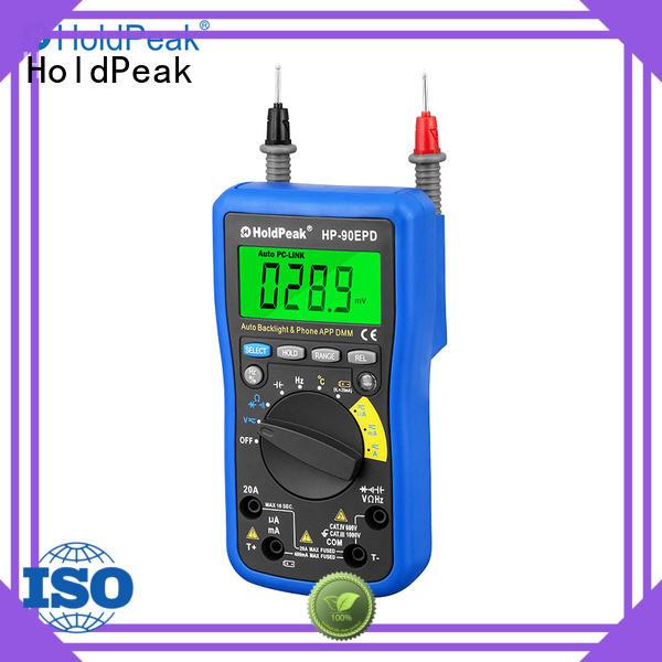 HoldPeak multimeter environmental instruments for business for environmental testing