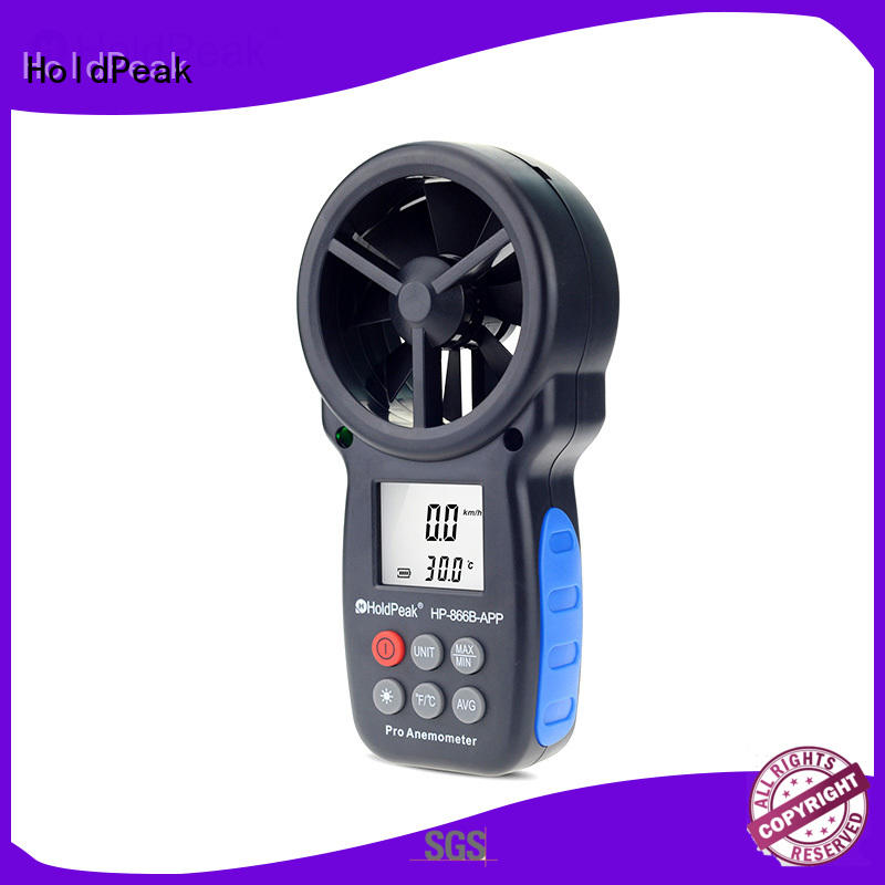 HoldPeak Wholesale digital vane anemometer Supply for manufacturing