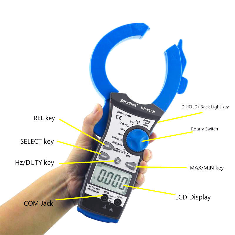 HoldPeak durable low amp current probe factory for communcations for manufacturing-1