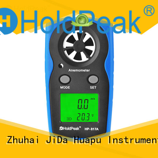 HoldPeak widely used anemometer flow meter for business for manufacturing