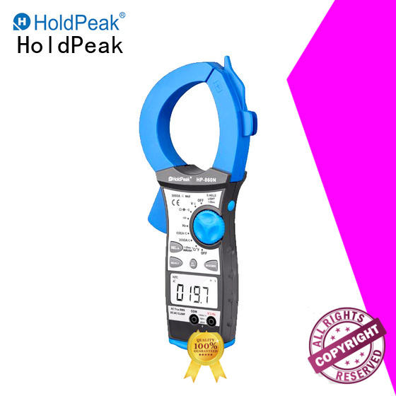 HoldPeak hp6206 clamp voltage tester manufacturers for petroleum refining industry