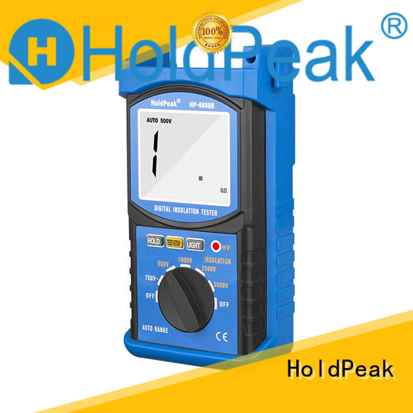 HoldPeak monitorhp6688c analog insulation tester manufacturers for maintenance