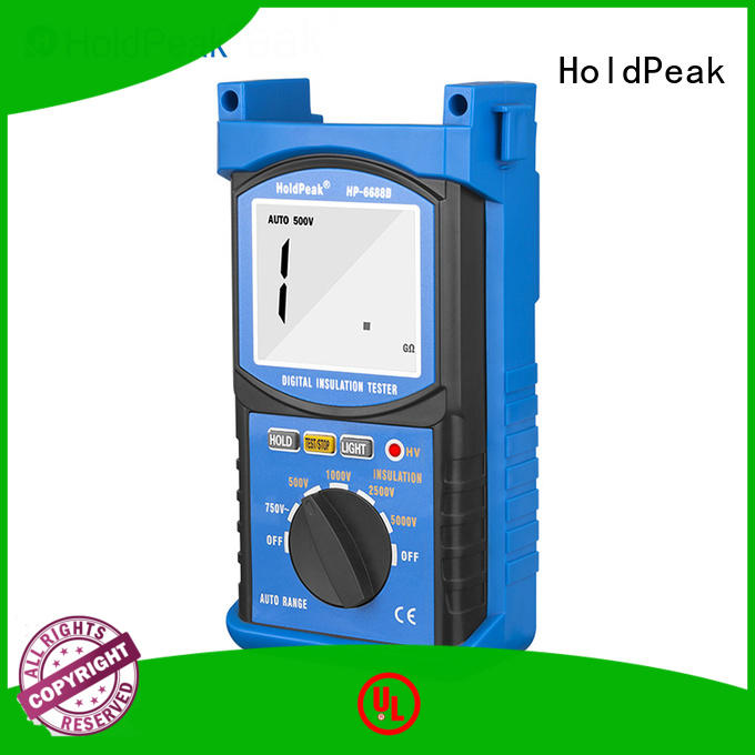 HoldPeak unique digital insulation resistance tester digital for verification